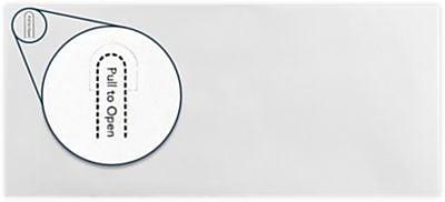 LUX #10 Regular Envelopes (4 1/8 x 9 1/2) 50/Box, 24lb. White