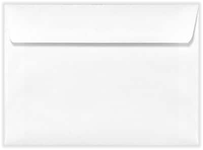 LUX A6 Invitation Envelopes (4 3/4 x 6 1/2) 50/Box, 24lb. White