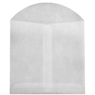 LUX 2 3/4 x 2 3/4 Open End Envelopes 500/Box) 500/Box, 30lb. Glassine (GLASS-13-500)