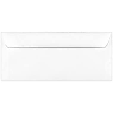 LUX #10 Square Flap Envelopes (4 1/8 x 9 1/2) 1000/Box, 24lb. White