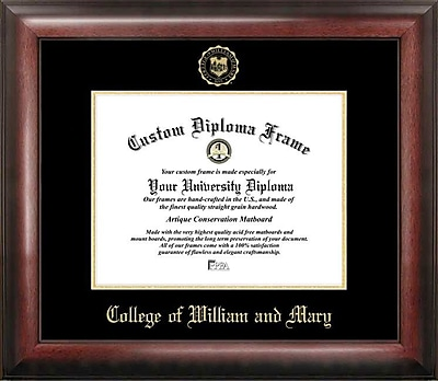Campus Images NCAA College of William and Mary Diploma Picture Frame