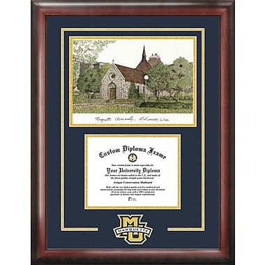 Campus Images NCAA Marquette Eagles Spirit Graduate Diploma Picture Frame