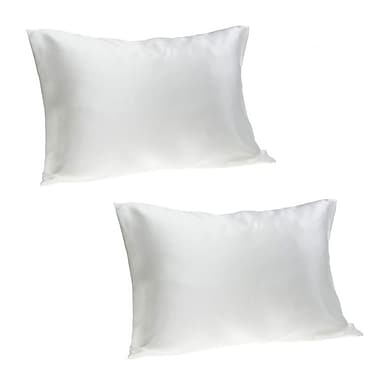 Hotel by Domay Satin Pillow Case Queen, White (5891848502)