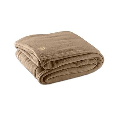 Sleep Comfort Polar Fleece Blanket, Double, 80