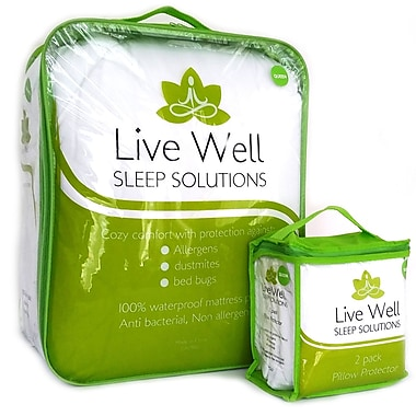 Live Well Performance Duvet, Twin (101)