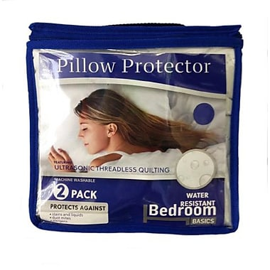 Bedroom Basics Pillow Protector, Queen (4121)