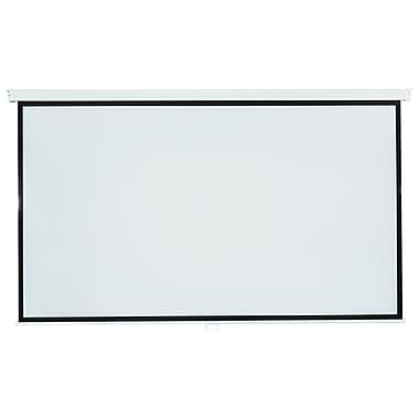 InFocus – Écran de projection mural 100 po, 16:9, support mural, blanc mat, (PJ-SCW-1001W)