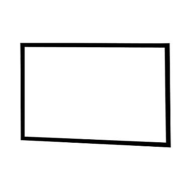 InFocus – Écran de projection cadre fixe 100 po, 4:3, support mural, blanc mat, (SC-FF-100)