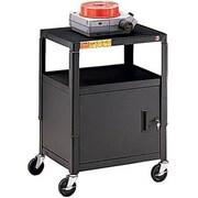 Bretford Height Adjustable A/V Cart , 1 Shelf, (CA2642E)