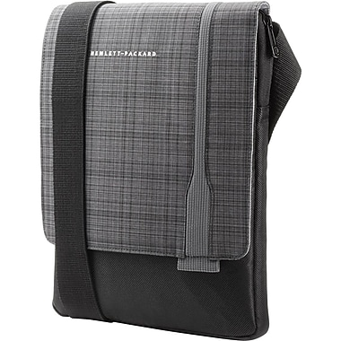 HP UltraSlim Tablet Sling, Gray Plaid Black, (F7Z97AA)