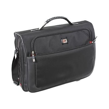 Gino Ferrari Titan Notebook Case, Nylon & Polyester, Black, (GF521)