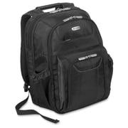 Targus Zip-Thru Corporate Traveler Notebook Backpack, Black, (TBB012US)