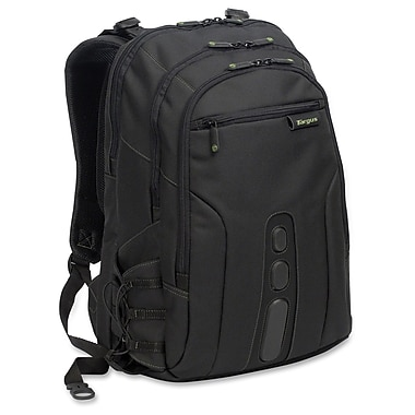 Targus Spruce EcoSmart Notebook Backpack, Polyester, (TBB013US)