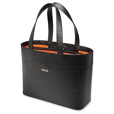 Kensington Jacqueline LM650 Tote, Faux Leather, Black, (62614)