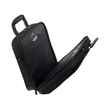 Targus – Étui pour ordinateur portatif Zip-Thru 15 Mobile Elite, polyester, noir et gris (TBT045US)