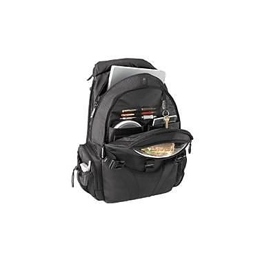 Targus Voyager Notebook Backpack, Black, (TSB045CA)