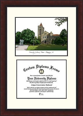 Campus Images NCAA Illinois University, Urbana-Champaign Legacy Scholar Diploma Picture Frame