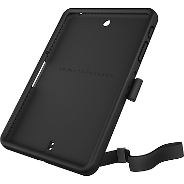 HP HP Pro 8 Rugged Case , Polycarbonate & Thermoplastic Polyurethane, Black, (K3P97AA)