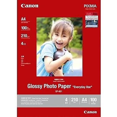 Canon – Papier photo glacé GP-601, format lettre, glacé, jet d'encre, (8649B003)