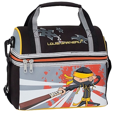 Louis Garneau Children Lunch Box with Dome Opening, Ninja