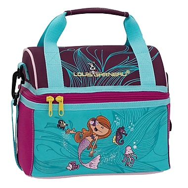 Louis Garneau Children Lunch Box with Dome Opening, Mermaid