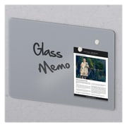 "MasterVision Magnetic Tempered Glass Dry Erase Board, Frameless, 48"" x 36"" x 1/4"" (GL080101)"