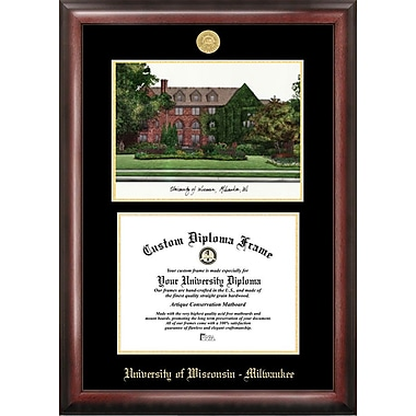 Campus Images NCAA Wisconsin University, Milwaukee Diploma Lithograph Picture Frame
