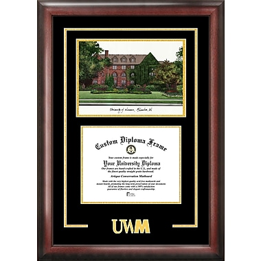 Campus Images NCAA Wisconsin University, Milwaukee Spirit Graduate Diploma Picture Frame