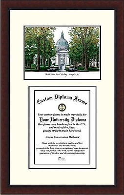 Campus Images NCAA United States Naval Academy Legacy Scholar Diploma Picture Frame