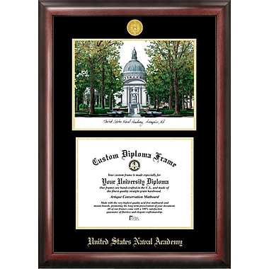 Campus Images NCAA United States Naval Academy Diploma Picture Frame