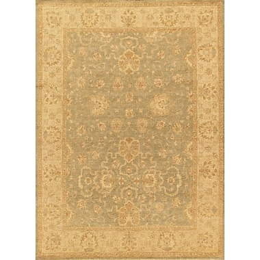 Pasargad Sultanabad Hand-Knotted Ivory/Light Green Area Rug