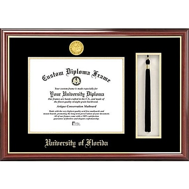 Campus Images NCAA Florida University, Tassel Box and Diploma Picture Frame