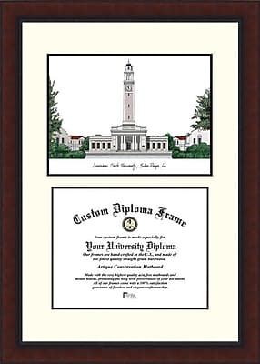 Campus Images NCAA Louisiana State University Legacy Scholar Diploma Picture Frame