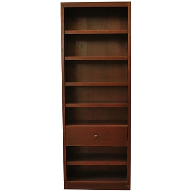 Concepts in Wood 84'' Standard Bookcase; Cherry