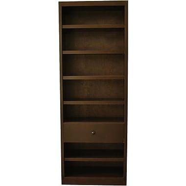 Concepts in Wood Standard Bookcase; Espresso