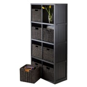 Luxury Home Wainscoting 53'' Cube Unit Bookcase