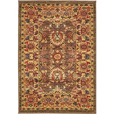 Unique Loom Heritage Light Brown Area Rug