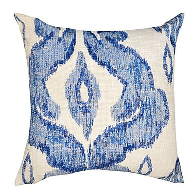 A1 Home Collections LLC Shaded Ikat Cotton Throw Pillow