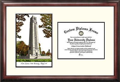 Campus Images NCAA North Carolina State University Scholar Diploma Picture Frame