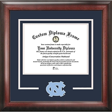 Campus Images NCAA North Carolina Tar Heels Spirit Diploma Picture Frame