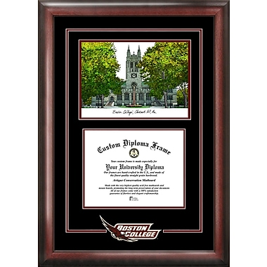 Campus Images NCAA Boston College Spirit Graduate Diploma w/ Campus Images Lithograph Picture Frame