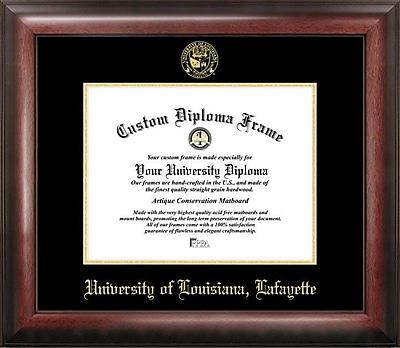 Campus Images NCAA Louisiana at Lafayette University Legacy Scholar Diploma Picture Frame