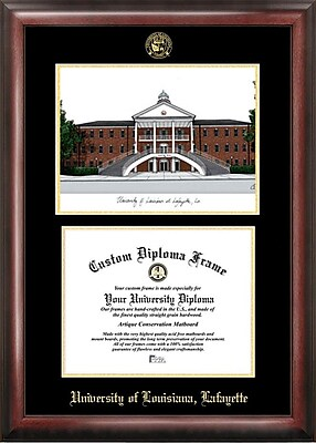 Campus Images NCAA Louisiana at Lafayette University Diploma Picture Frame