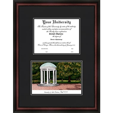Campus Images NCAA University of North Carolina, Chapel Hill Diplomate Diploma Picture Frame