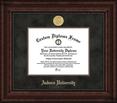Campus Images NCAA Auburn University Executive Diploma Picture Frame
