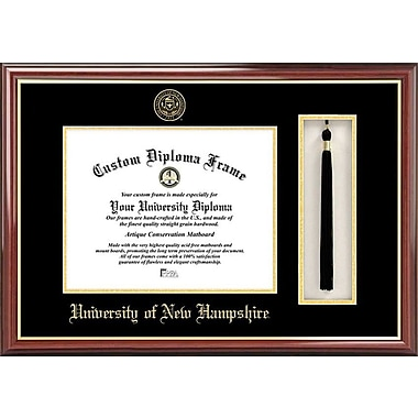Campus Images NCAA University of New Hampshire Tassel Box and Diploma Picture Frame