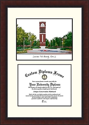 Campus Images NCAA Louisiana Tech University Legacy Scholar Diploma Picture Frame