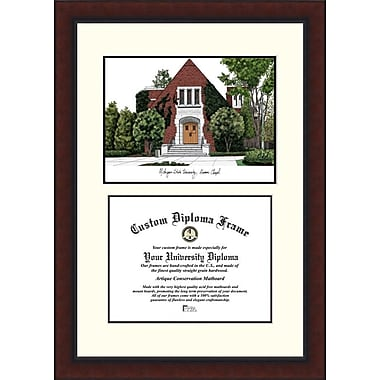 Campus Images NCAA Michigan State Chapel University Legacy Scholar Diploma Picture Frame