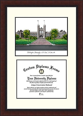 Campus Images NCAA Washington University in St. Louis Legacy Scholar Diploma Picture Frame