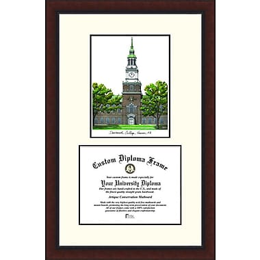 Campus Images NCAA Dartmouth College Legacy Scholar Diploma Picture Frame
